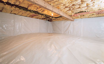 Encapsulated crawl space