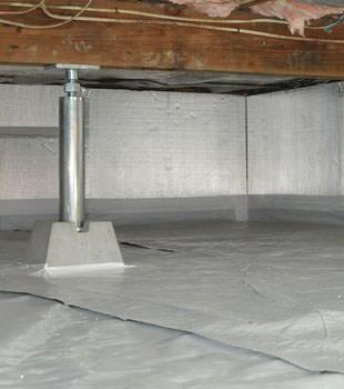 Crawl Space Insulation With Silverglo In Alaska Crawl